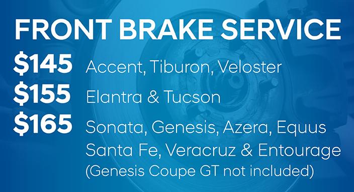 Front Brake Service