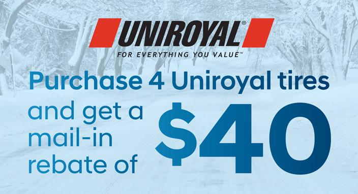 Uniroyal Rebate