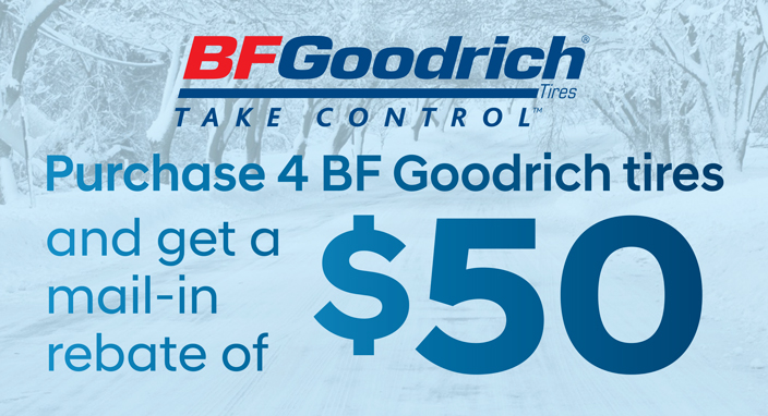 BF Goodrich Rebate