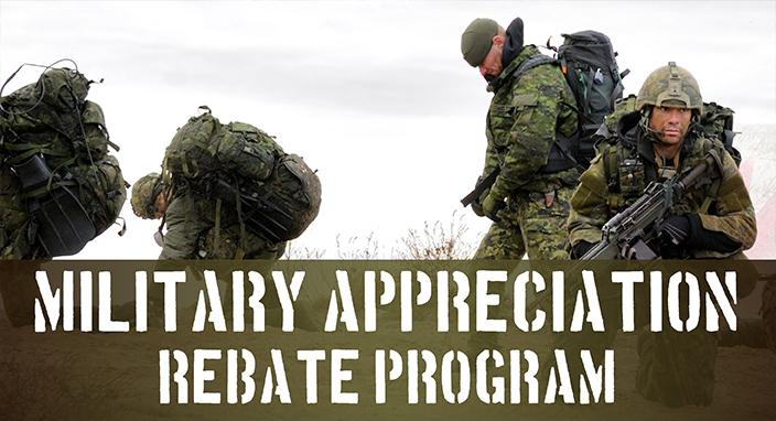 Military Appreciation Rebate Program