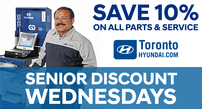 Senior Discount Wednesday