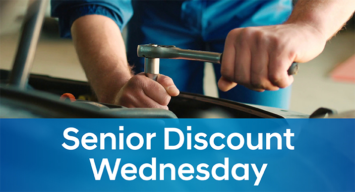 Senior Discount Wednesday