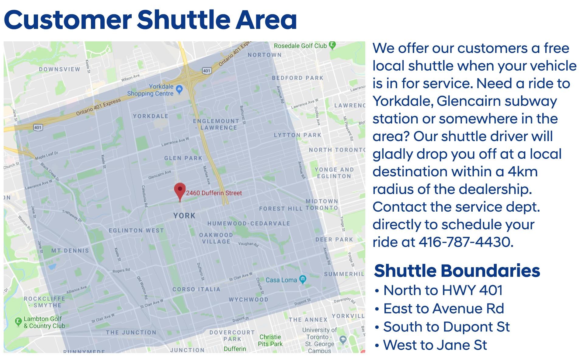 Customer-Shuttle