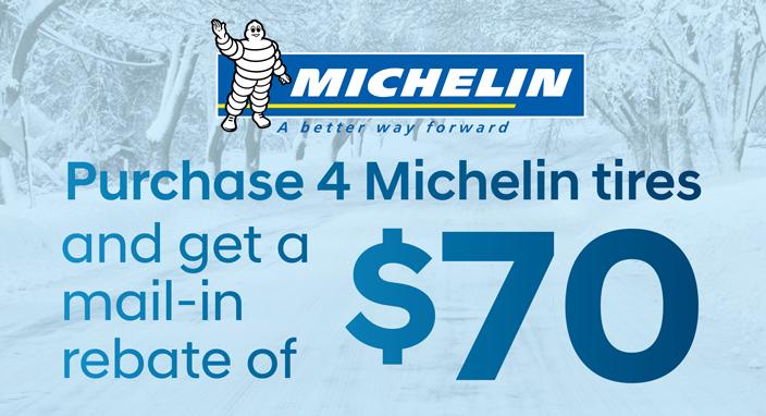 Michelin Rebate