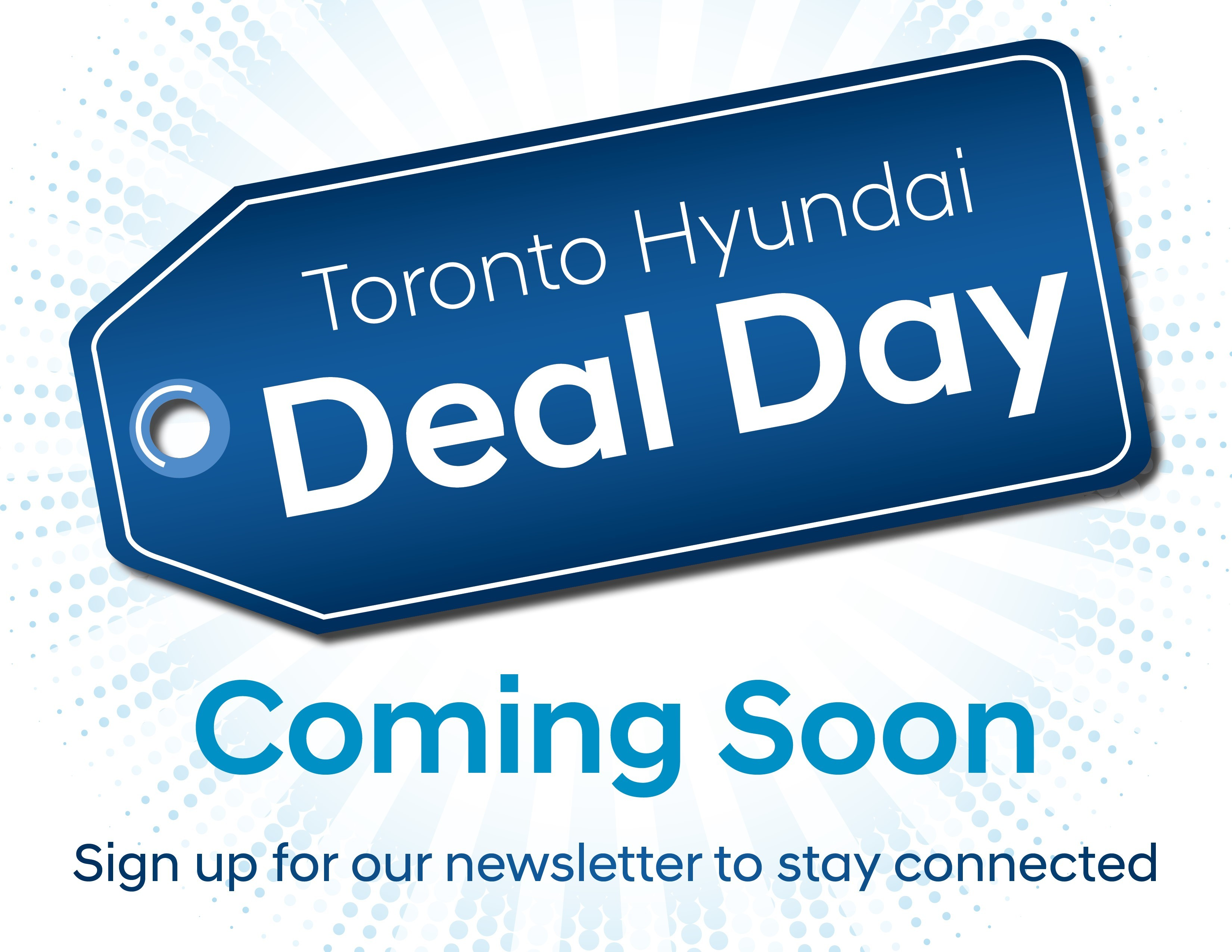 Deal Day coming soon