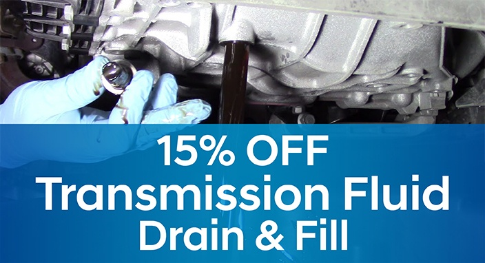 Transmission Fluid Drain & Fill