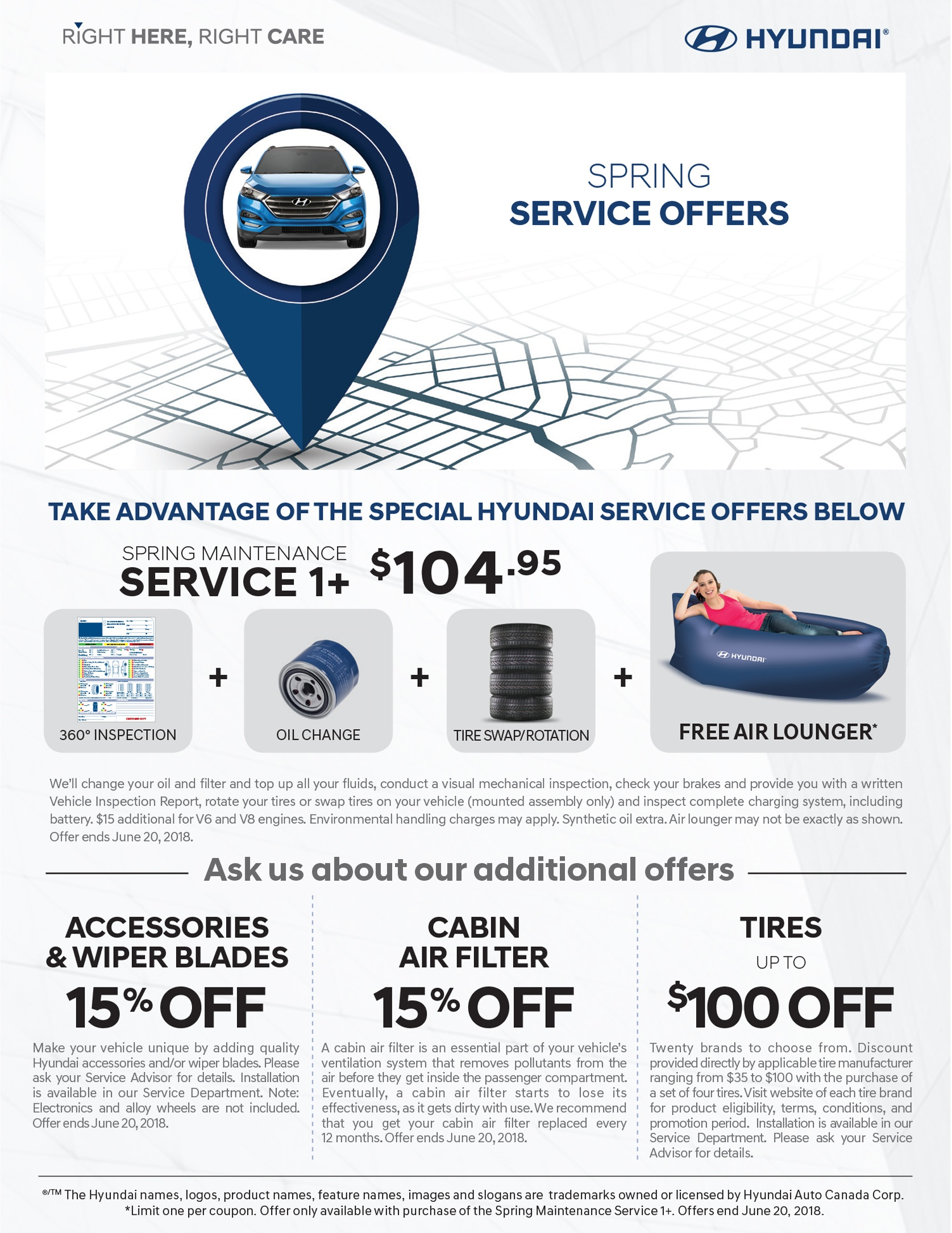 Spring Maintenance Service Toronto Hyundai