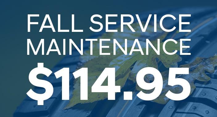 Fall Service Maintenance