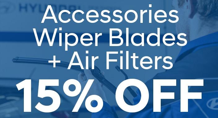 Accessories, Wiper Blades & Air Filter