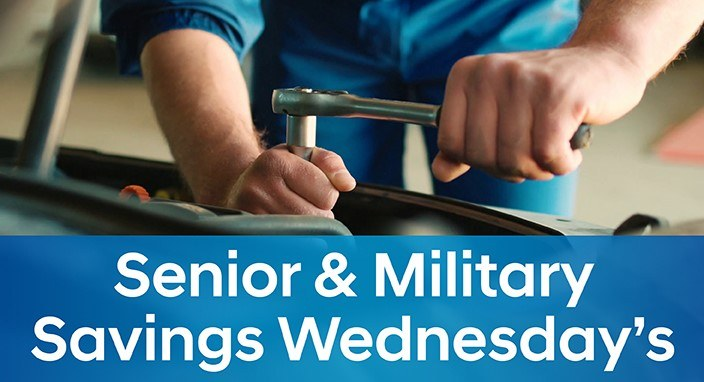 Senior and Military Savings Wednesday's