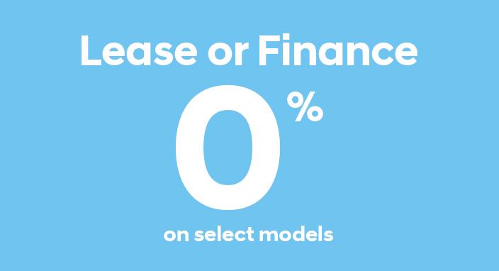 0% Financing & Leasing