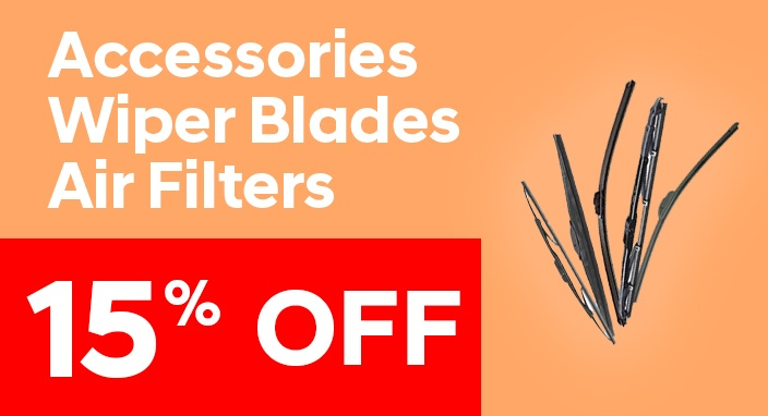Accessories, Wiper Blades & Air Filter