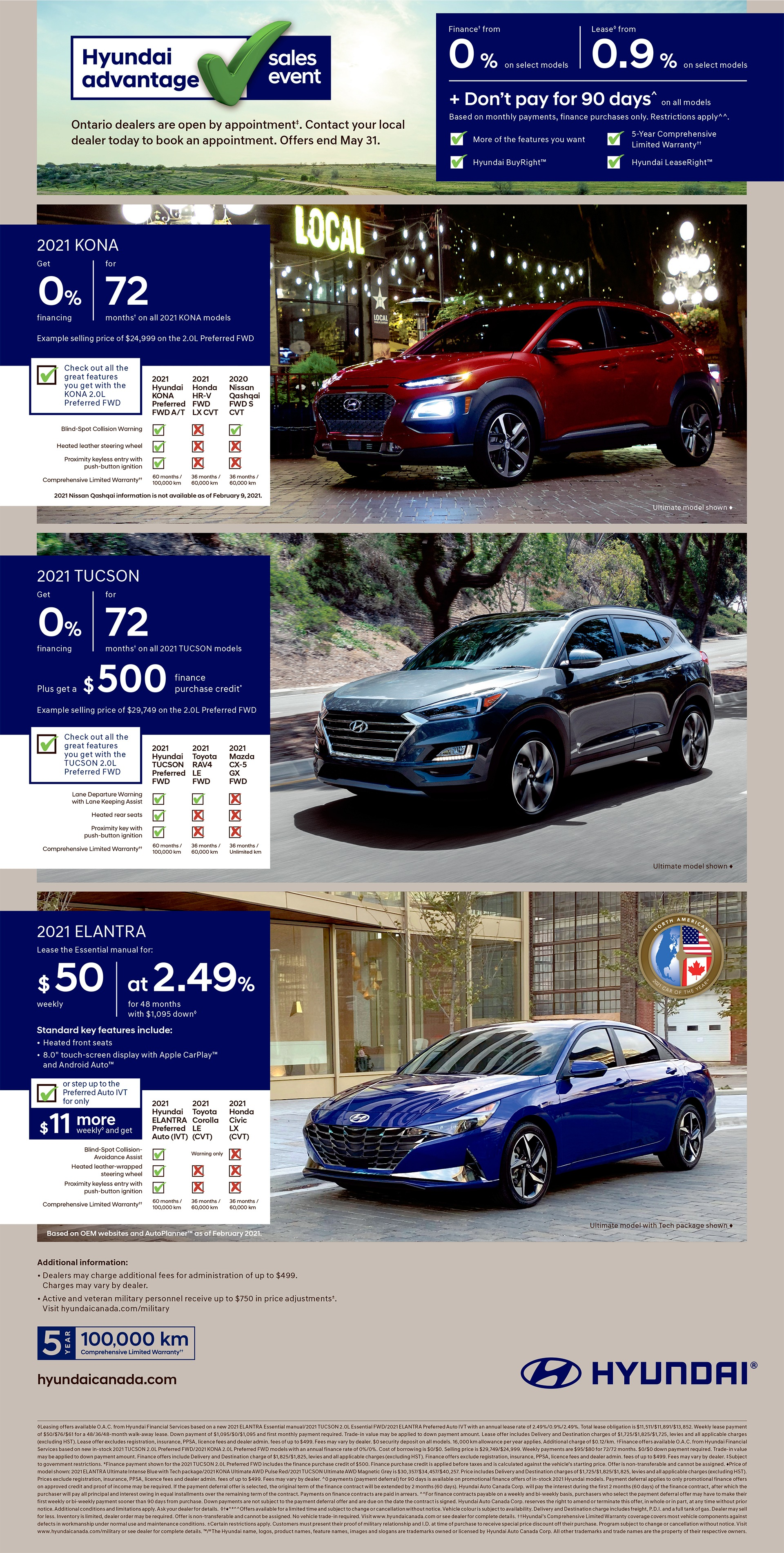 Hyundai Adavantage Sale Event